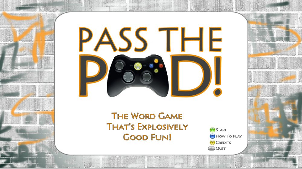 Image from Pass The Pad!