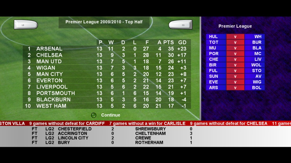 Image from Football League Simulator