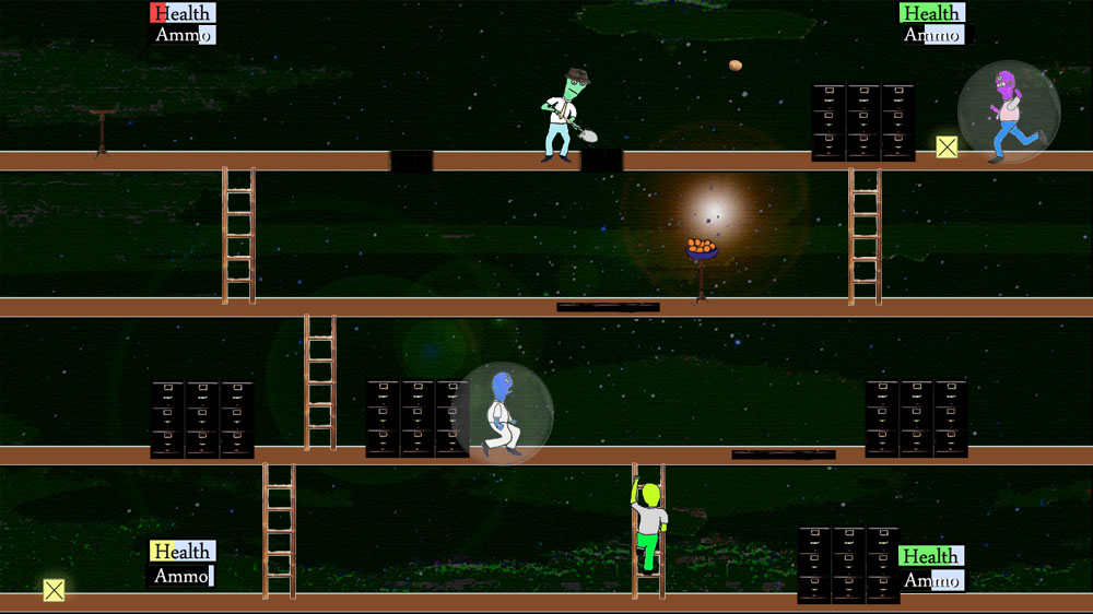 Image from Four Player Tangerine Fight