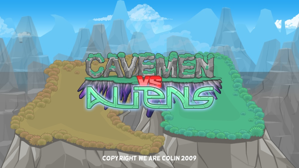 Image from Cavemen Vs Aliens