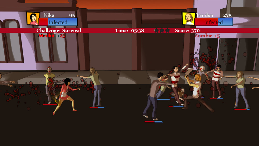 Image from Samurai vs Zombie