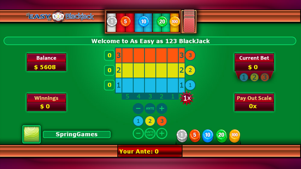 Image from As Easy As 123 BlackJack