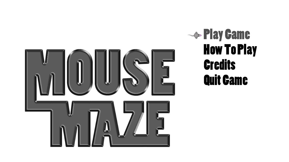 Image from Mouse Maze