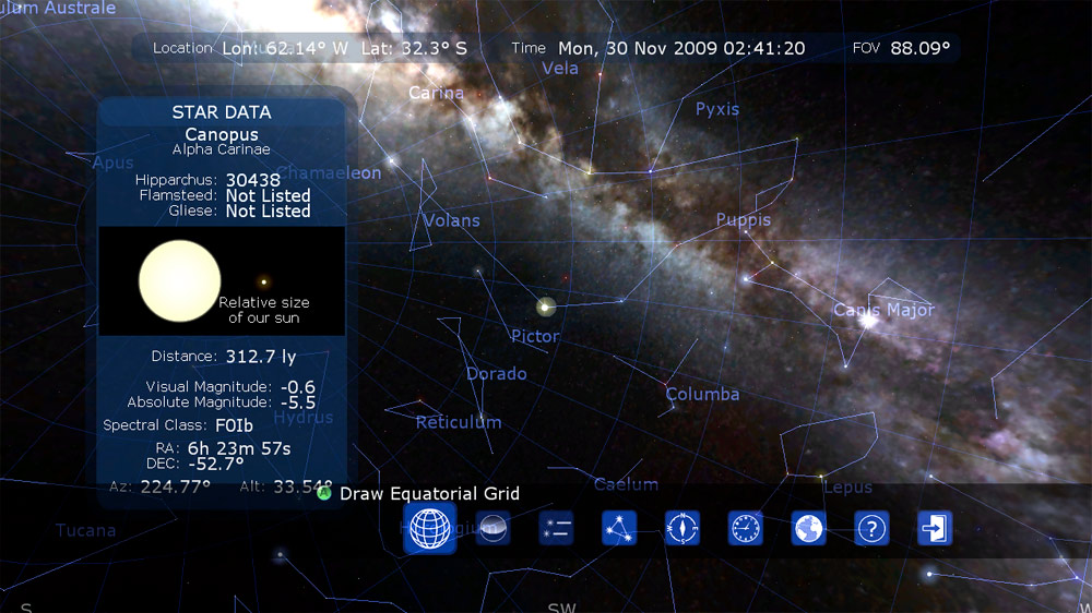 Image from Star Chart