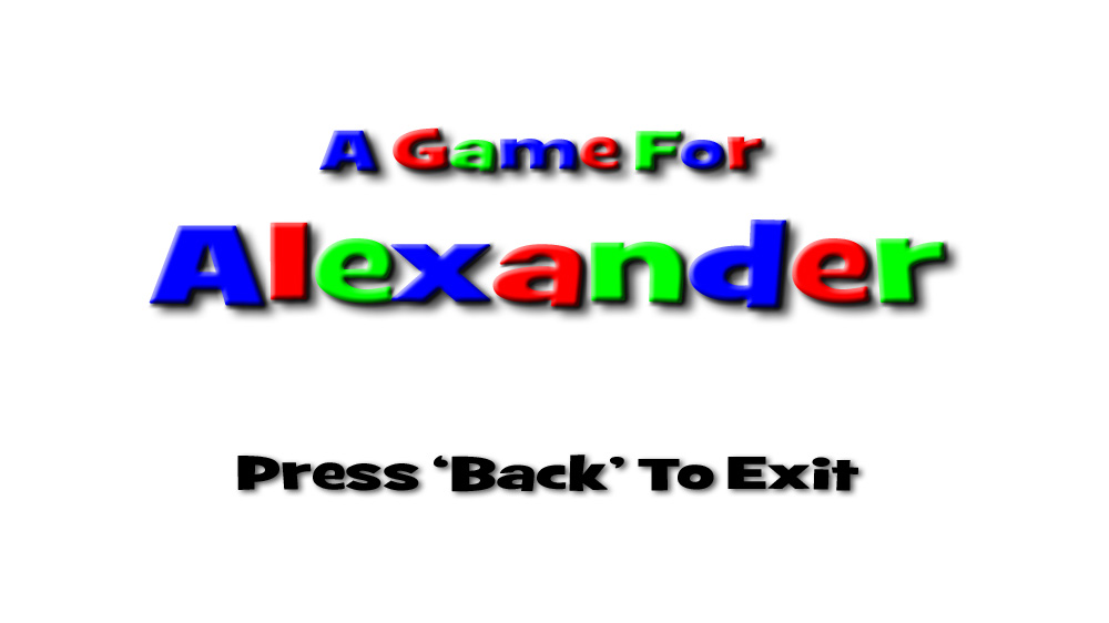 Image from A Game For Alexander