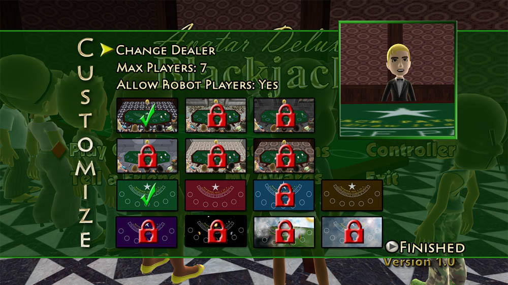 Image from Avatar Deluxe Blackjack