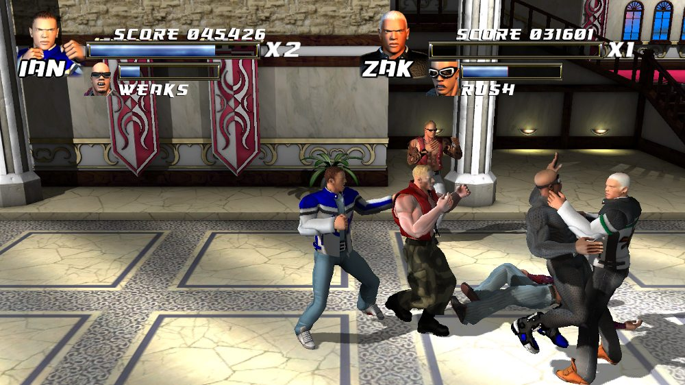 Image from Burning Fist of Rage