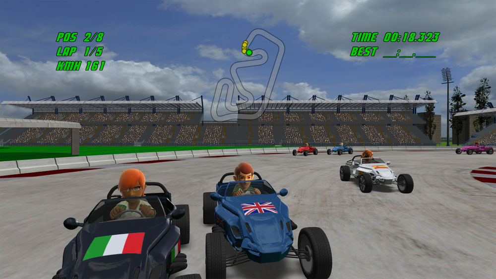 Image from Avatar Racedrome