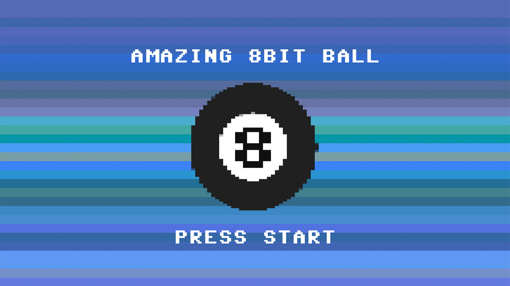 Image from Amazing 8bit Ball