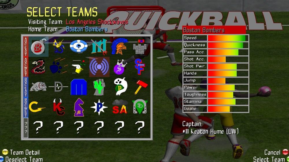 Bild från Quickball