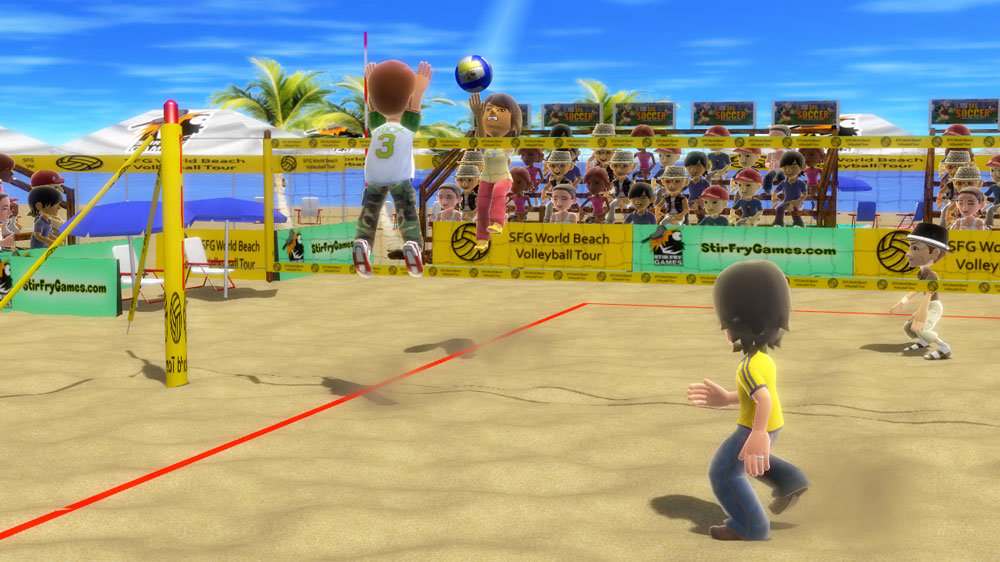 Image from SFG Beach Volleyball