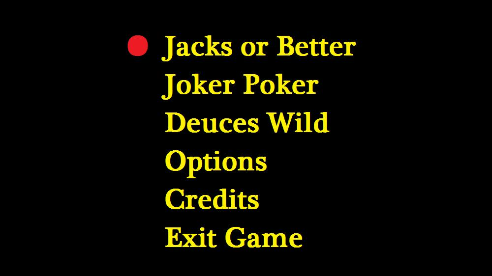 Image from Video Poker