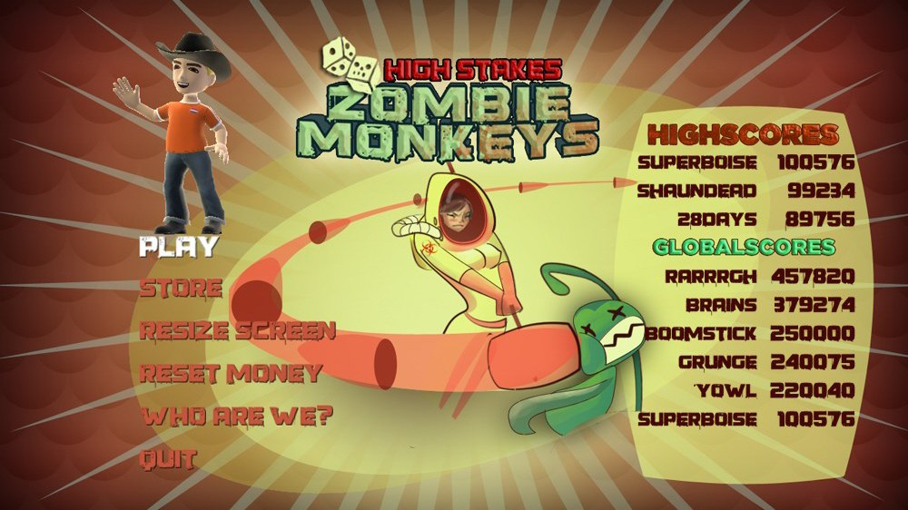 Image from High Stakes Zombie Monkeys