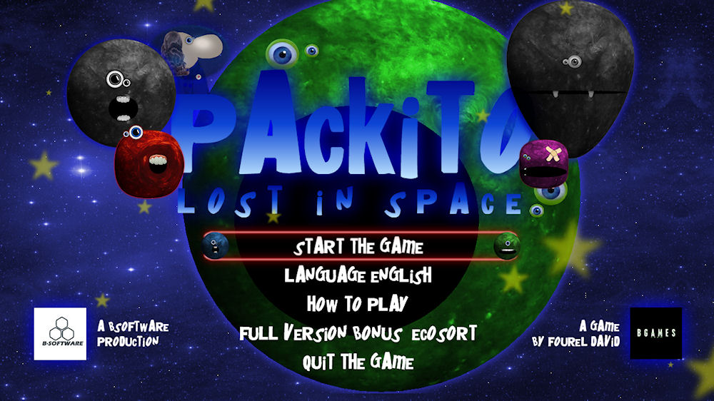 Image from Packito lost in space