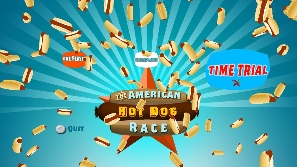 Image from The American Hot Dog Race