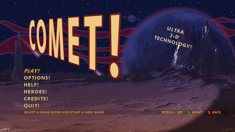 Image from Comet!