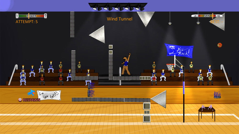 Image from Basketball Trick Shot