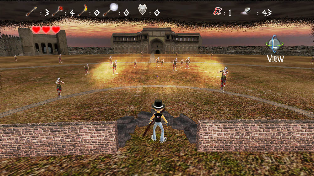 Image from Zombie Arena