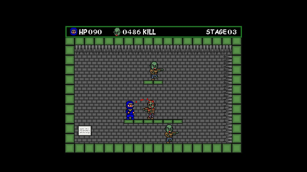 Image from Ninja VS. Zombie