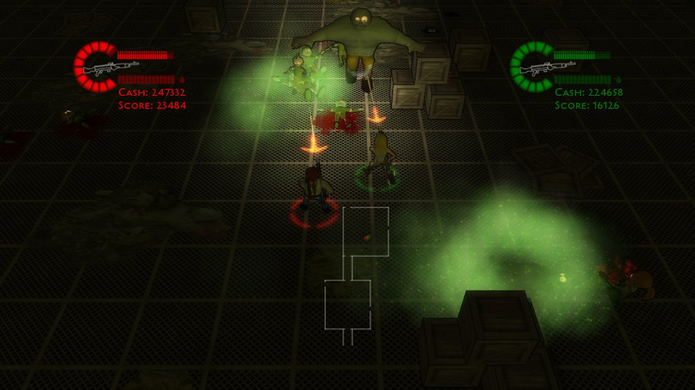 Image from Mutant Zombie Onslaught