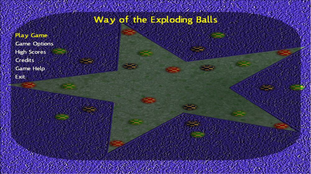 Image from Way of the Exploding Balls