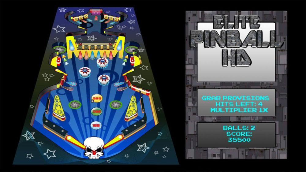 Image from Elite Pinball HD