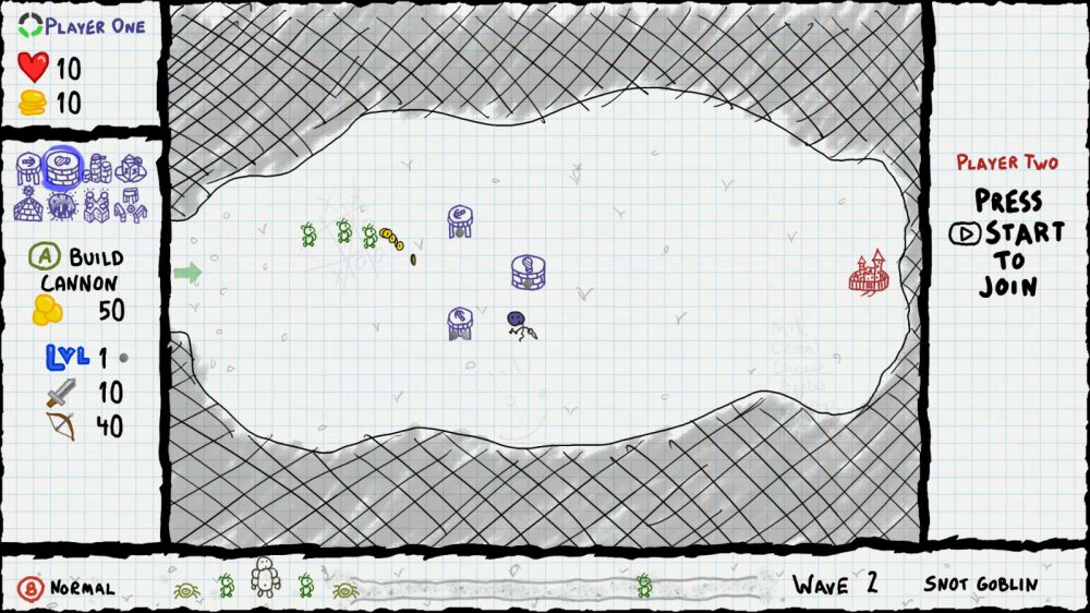 Image from Sketchy Tower Defense