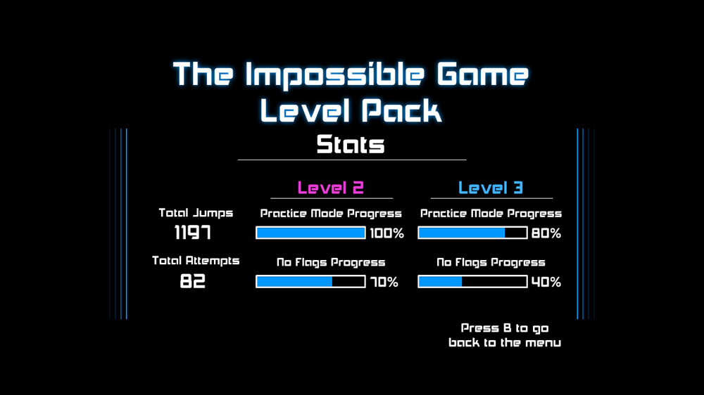 Image from The Impossible Game Level Pack