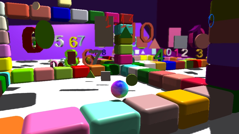 Image from Rainbow Ball into Adventure