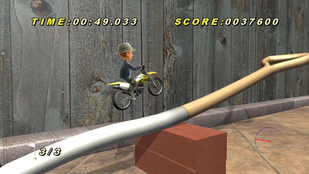 Image from Toy Stunt Bike