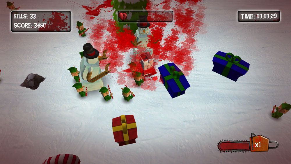 Image from The Xmas Chainsaw Massacre
