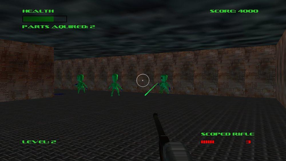 Image from Alien Hunter
