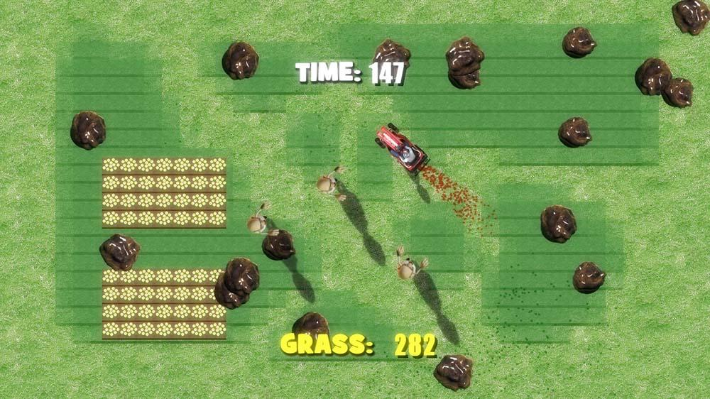 Image from Lawnmower Vs. Zombies