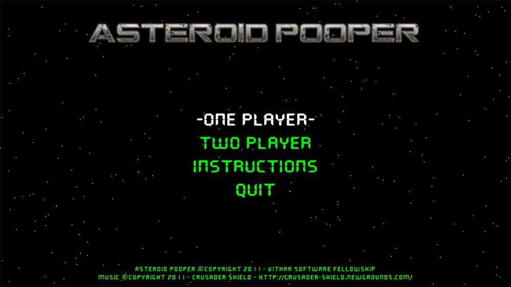 Image from Asteroid Pooper