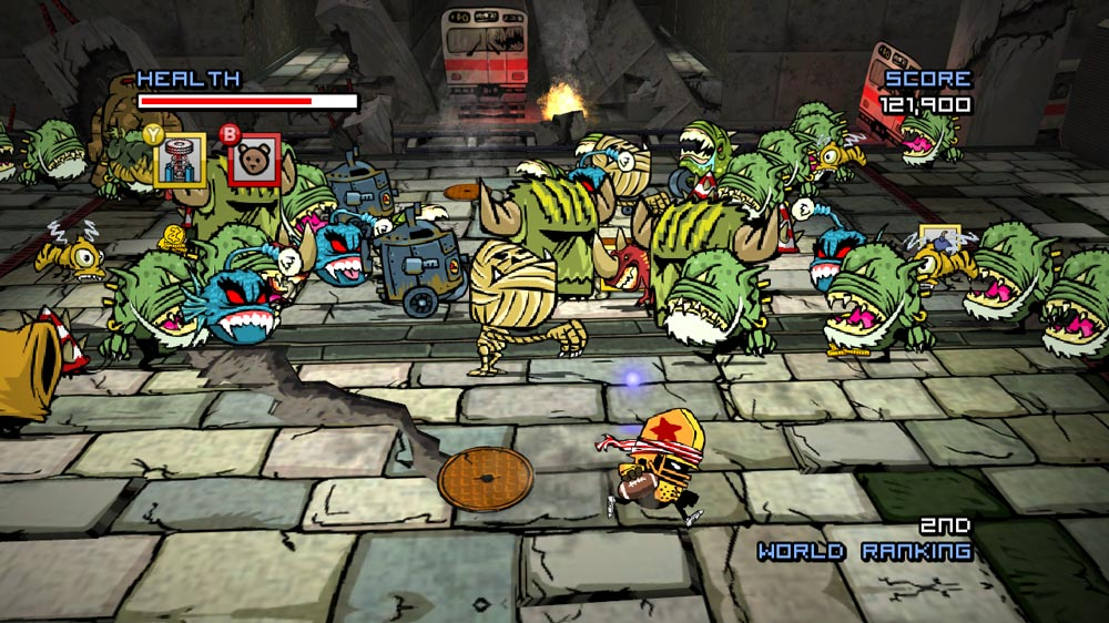 Image from Zombie Football Carnage