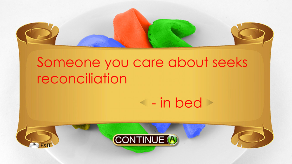 Image from Fortune Cookies In Bed