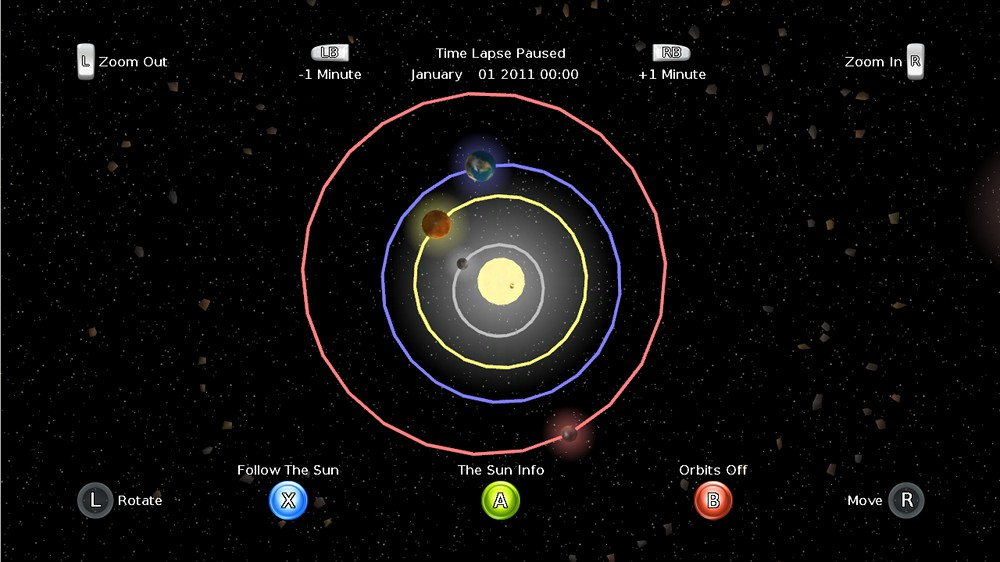 Image from Solar System 4D