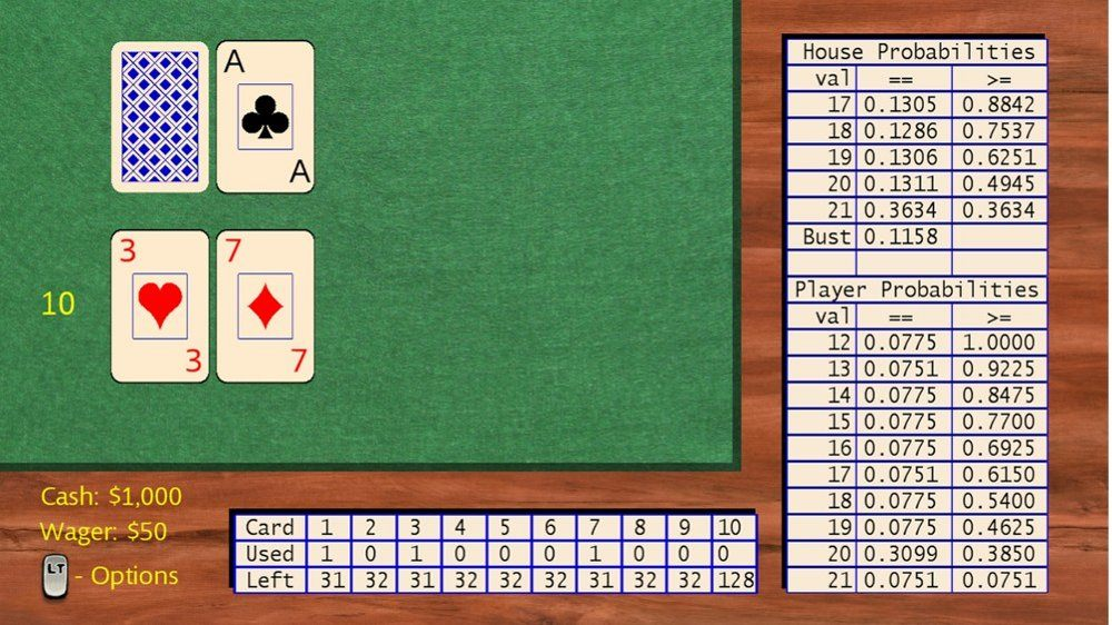 Image from Black Jack Card Counter