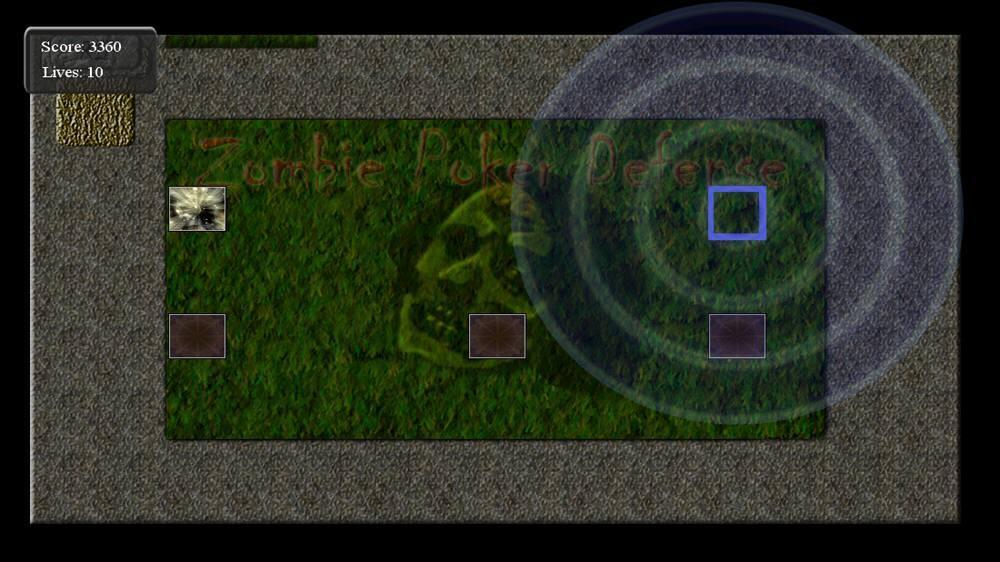 Zombie Poker Defense のイメージ