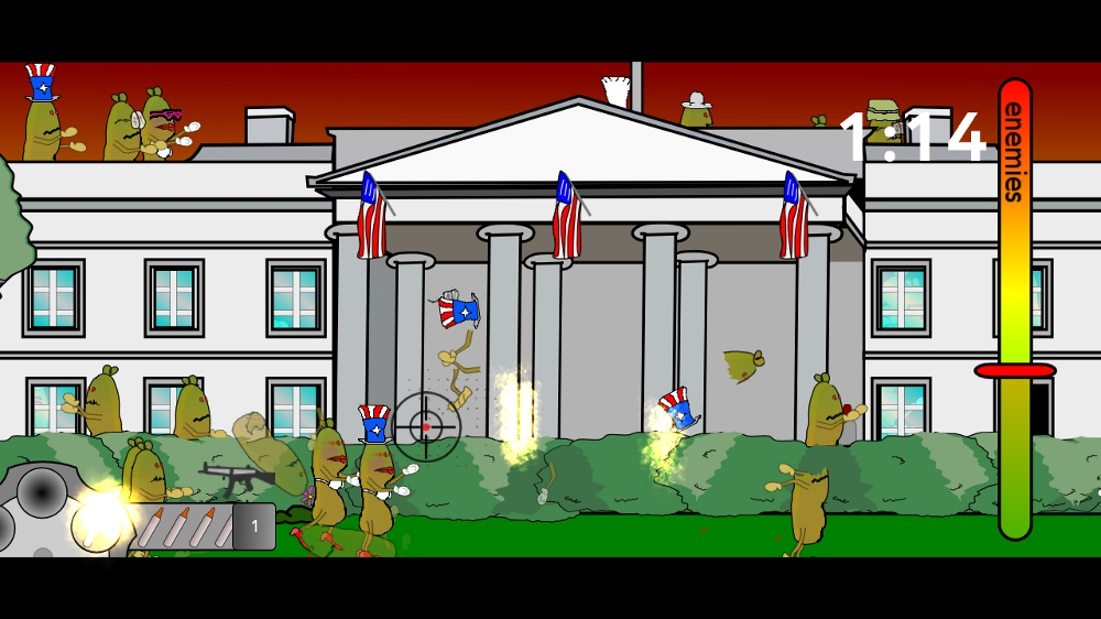 Image from Zombie Sausages 2
