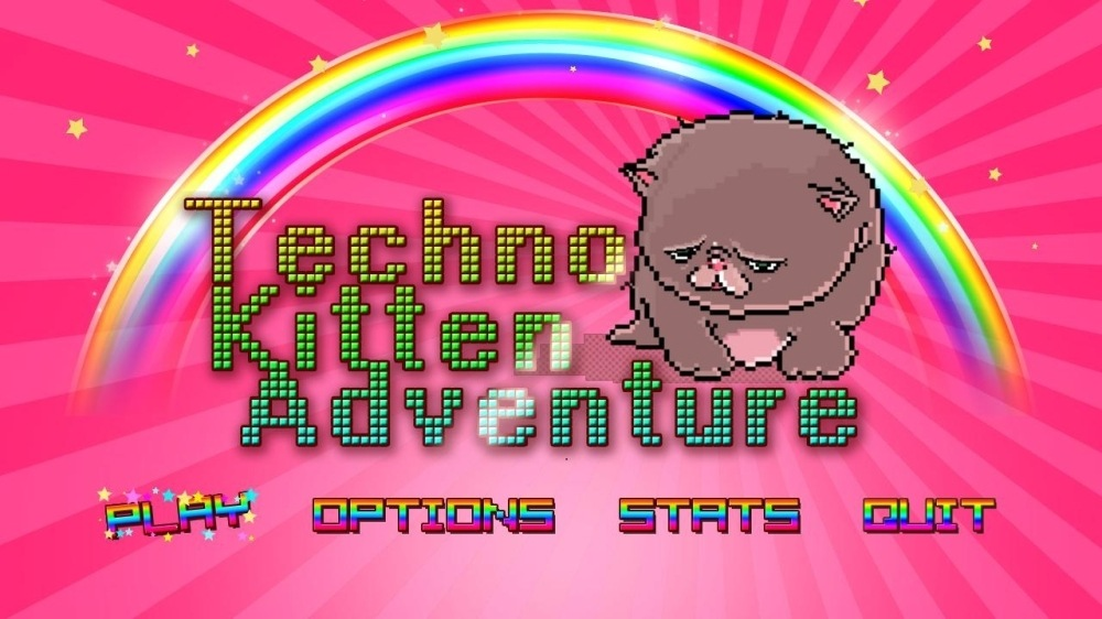 Image from Techno Kitten Adventure!