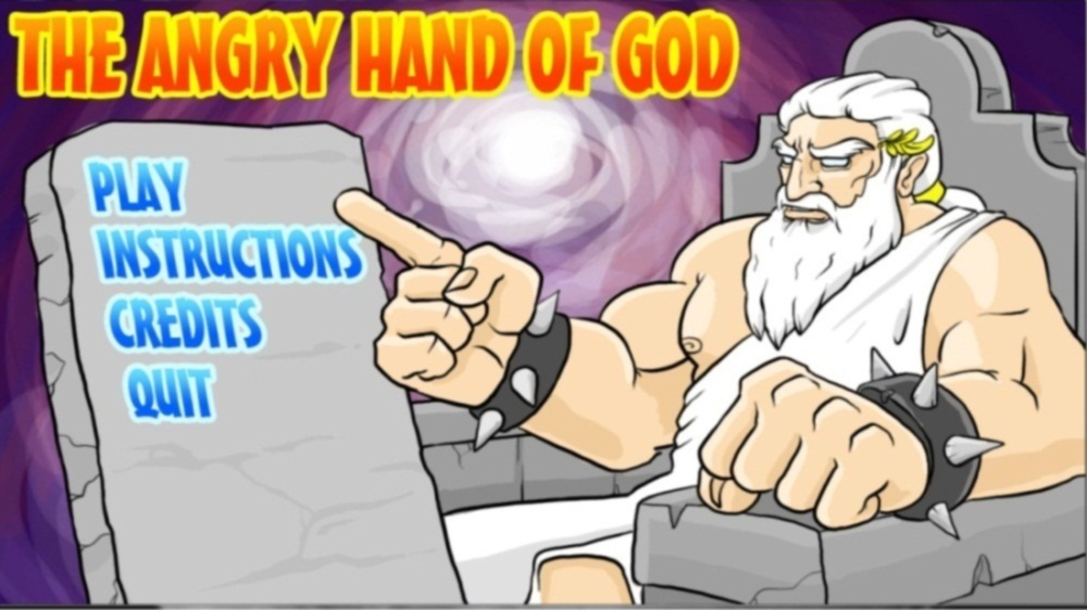 Image from The Angry Hand of God