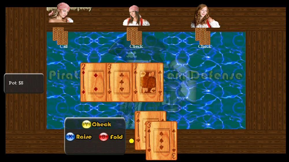 Pirate Texas Holdem Defense のイメージ