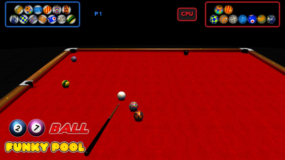 Image from 27 Ball Funky Pool