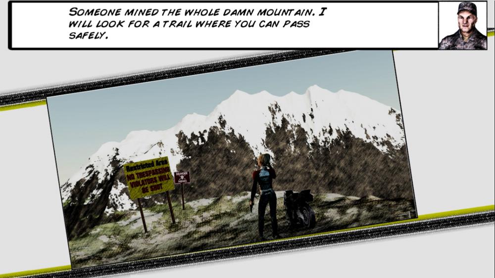 Image from Motorbike Stunt Agent Julie