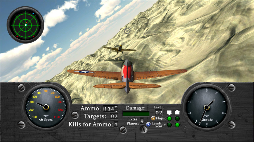 Image from Air Combat: Desert Aces