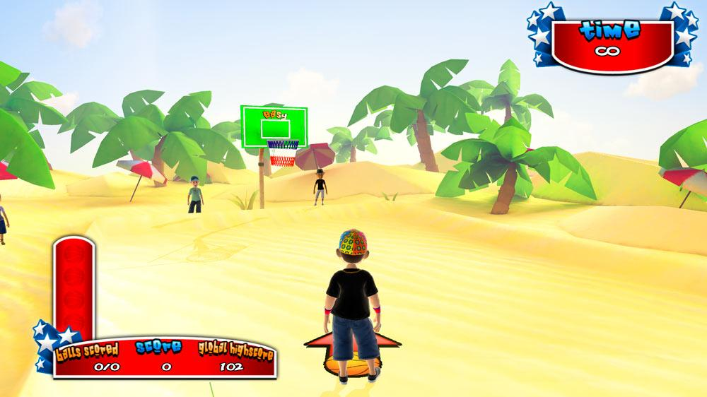 Image from Avatar Street Basketball 2