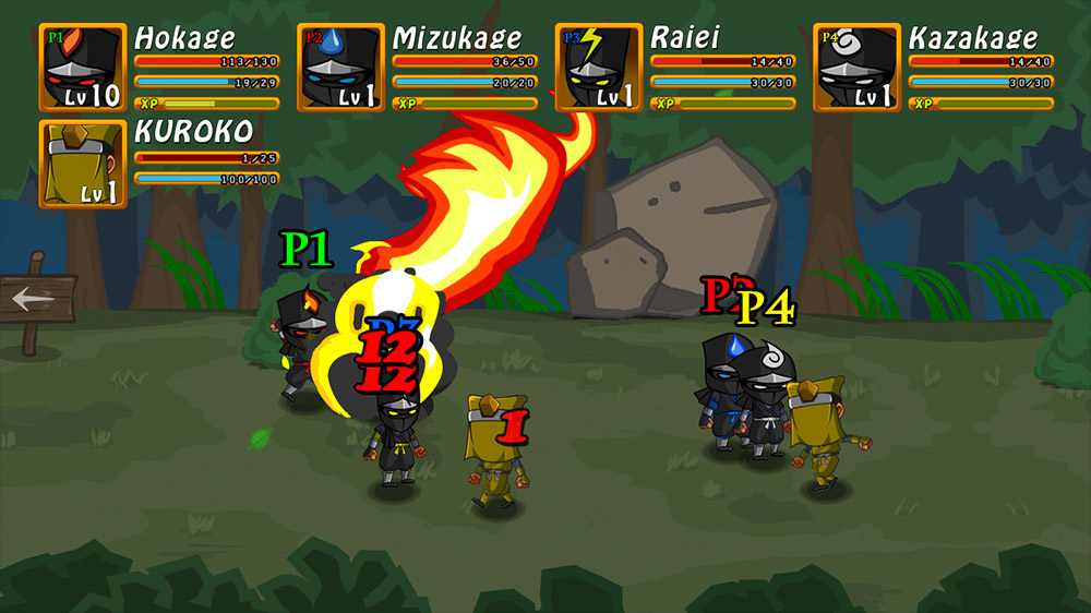 Image from Ninja War STOLEN SCROLLS
