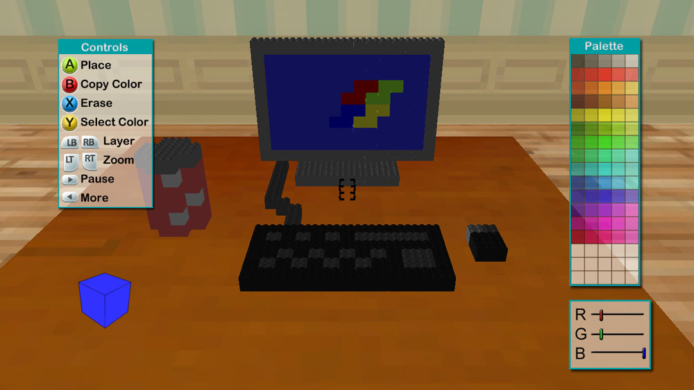 Image from 3D Pixel Art Studio