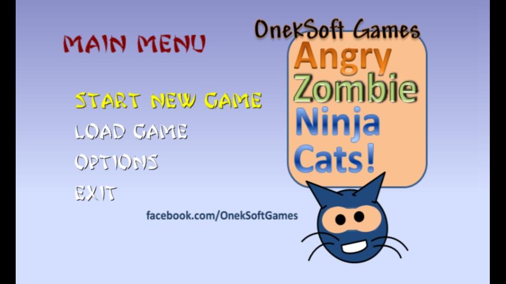 Image from Angry Zombie Ninja Cats